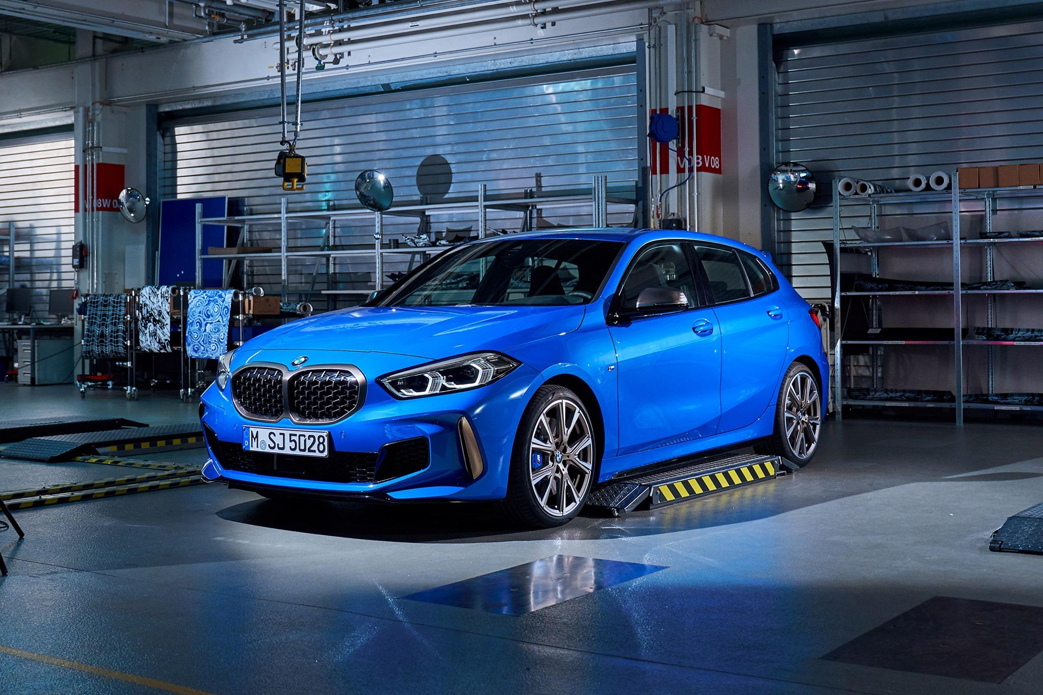 e87 M-Sport Pacchetto M-pacchetto In puro CARBONIO//carbone fibra PARAURTI Performance per BMW e81