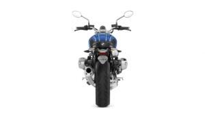 Nero Molto Luminoso Omologato Lente Trasparente Led Rosso Fermata di Coda Luce con Targa Portatarga per Motorcicli Motociclette Trike